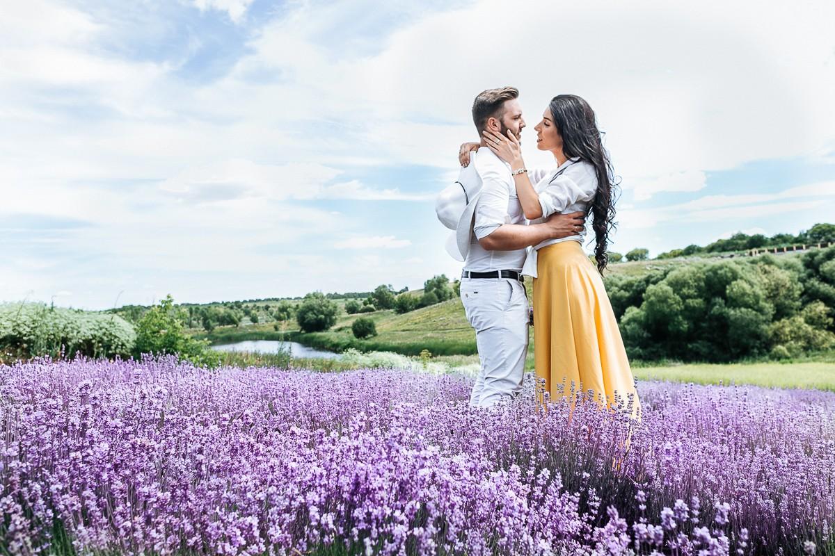 Nikа&Кonstantin  in lavender
